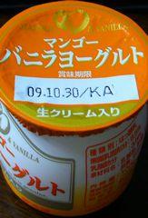 日本ルナ マンゴー バニラヨーグルト