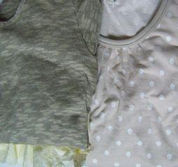 アンサンブルとロングTシャツ しまむら