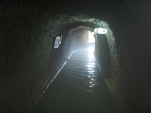 藍の洞窟風