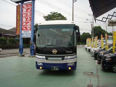 観光バス1