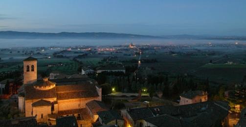 Assisiの夜明け