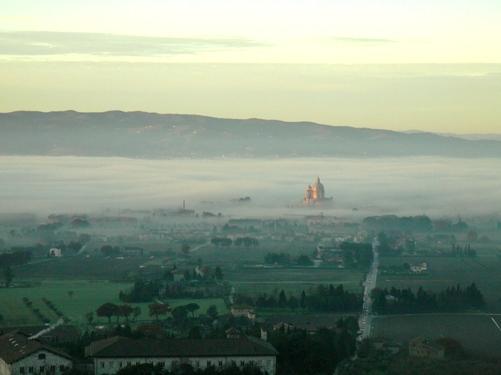 そして・・霧