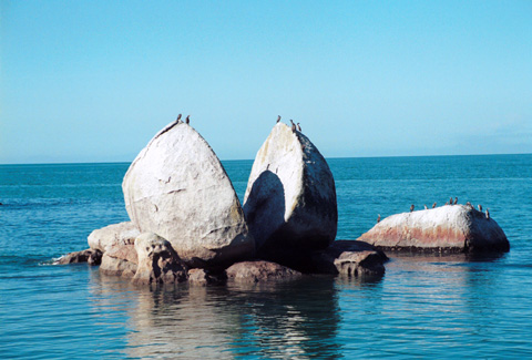 split apple rock