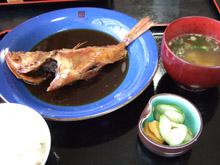 かさご煮魚定食