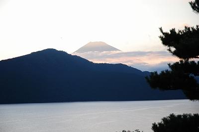 おぉぉ!富士山だぁー!