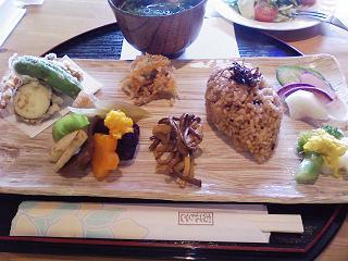 玄米ランチ