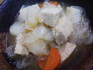 凍り豆腐煮物