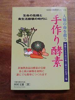 手作り酵素の本