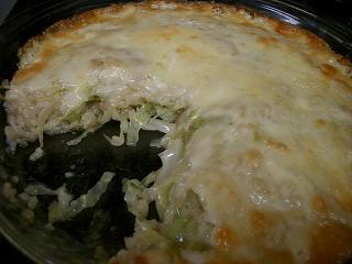 玄米ごはんチーズ焼き