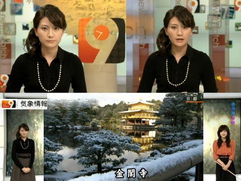井上あさひ 雪の金閣寺