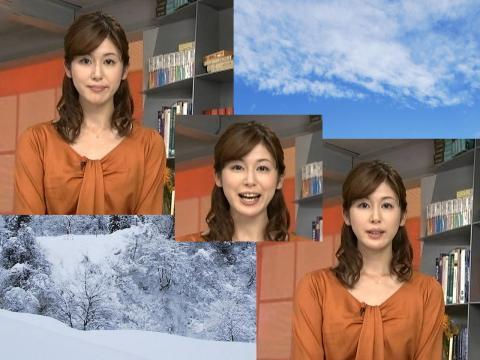 加藤 真輝子 雪は降る