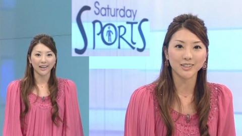 山岸舞彩  サタデースポーツ 2011.11.5