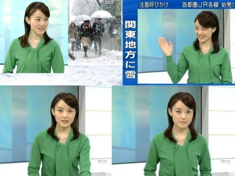 江崎史恵 なごり雪?