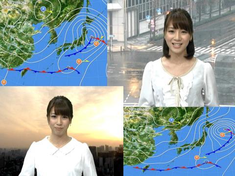 植田萌子 昨日は雨今日は春の陽気