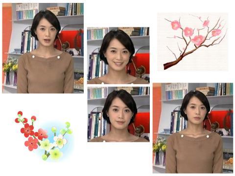 八木 麻紗子 ほんのり匂う梅の花