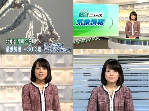 結野亜希 旭川ー30,3度