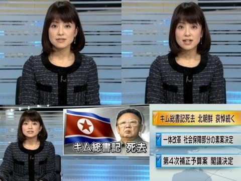 結野亜希 北朝鮮・哀悼続く