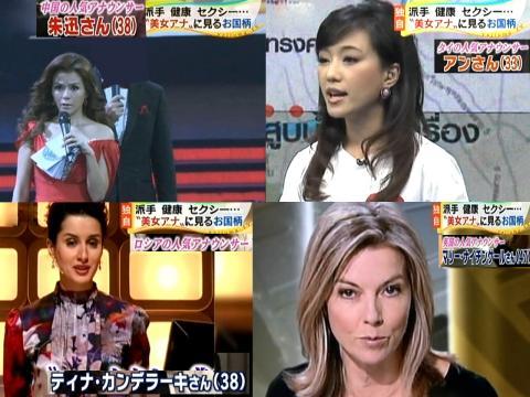 世界の美女アナ 2011