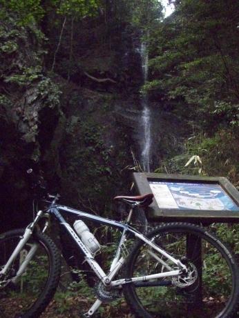 大ヨケの滝トレイル