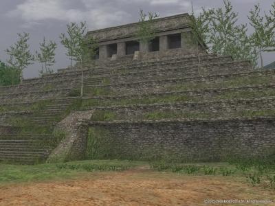 碑文の神殿?