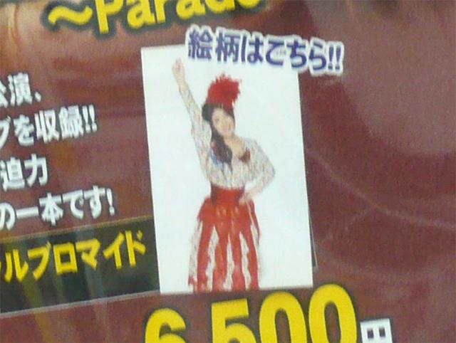 Minori Chihara Live Tour 2009 ~Parade~ ライブDVD ゲーマーズ特典「オフィシャルブロマイド」