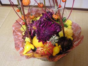 ハロウィンのアレンジ2-3