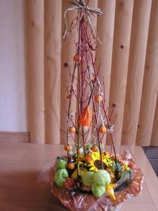 ハロウィンのアレンジ(変身後)