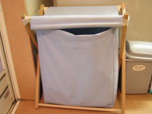 洗濯カゴの中のルイ1