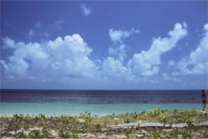 グリーン島の海2