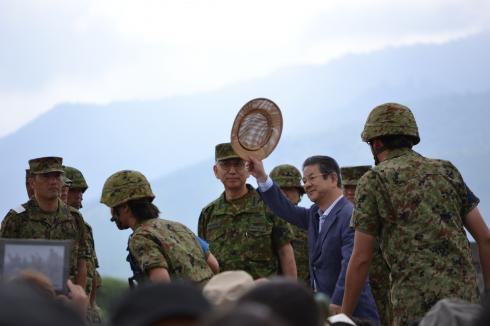 北澤防衛大臣