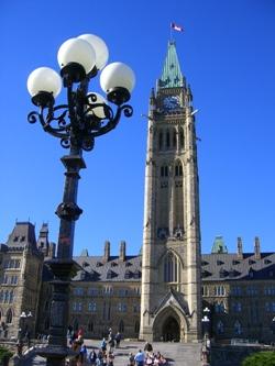 Ottawa・国会議事堂①
