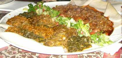 エチオピアン料理