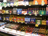 スーパーのビール
