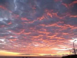 こんな雲は初めて見た^^
