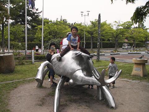 さくら4歳 米子の公園