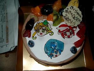 さくら4歳誕生日ケーキ