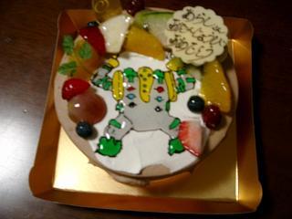 あらし6歳 誕生日ケーキ