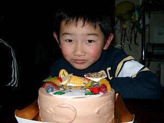 あらし6歳 誕生日