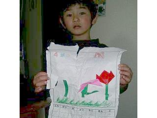 あらし6歳 プレ入学の作品