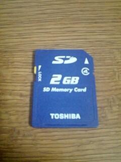 SDカード2GB