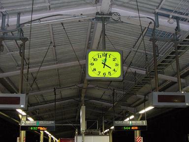 コミケ3日目の朝@金町駅