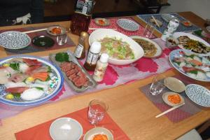 秋山家 夕飯