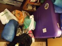 WYD準備 スーツケース