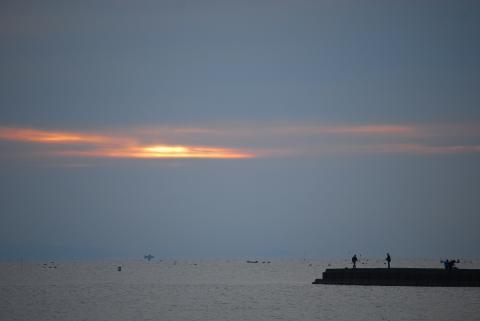 今朝の海1