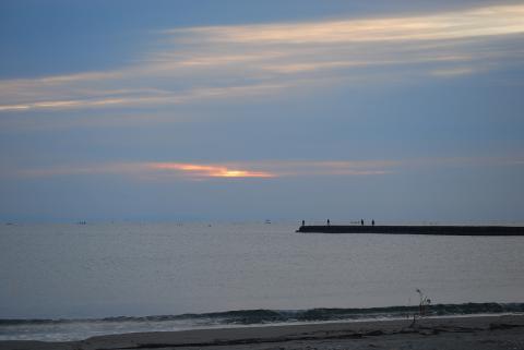 今朝の海2