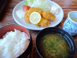 牡蛎フライ定食