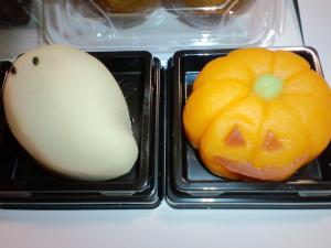 シャトレーゼ ハロウィン上生菓子