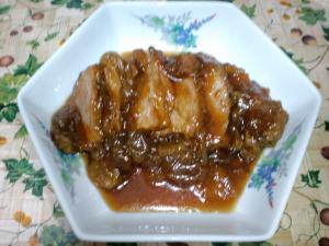 魚ちゃん煮・豚ロース