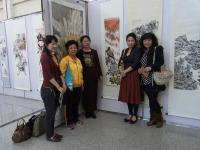 2011 中国展 水墨画 天壽照日出國