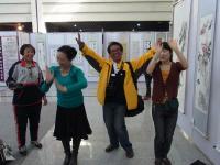 2011 中国展 踊る人たち